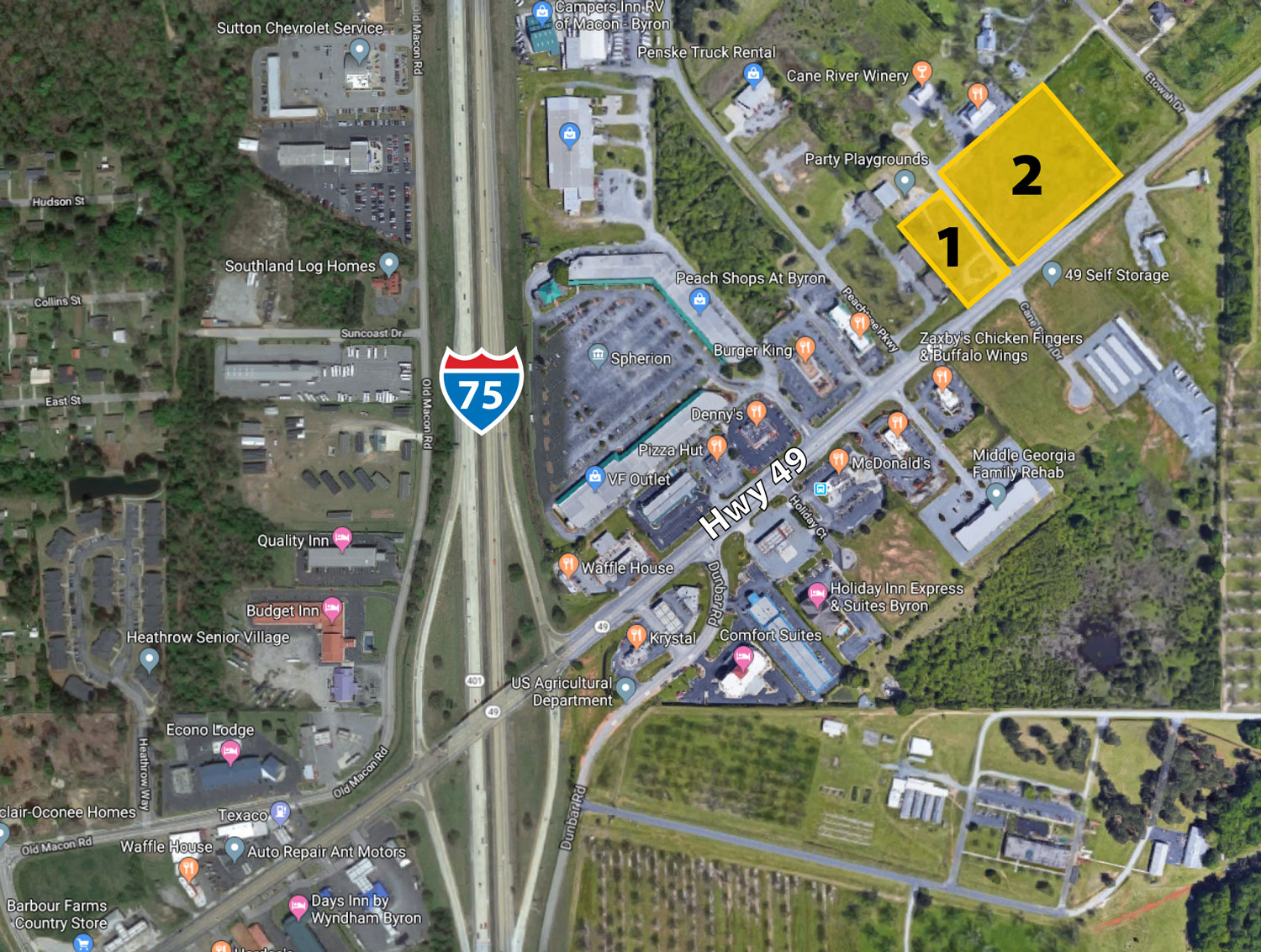 Land for Sale: Hwy 49 at Cane River Dr, Byron, GA – Thornton Realty